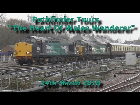 DRS 37059 & 37069 with Pathfinder Tours 'The Heart Of Wales …