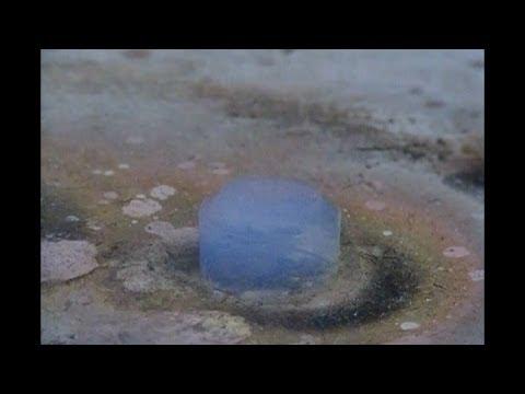 What Happens When You Drop A Red Hot Nickel Ball Onto Aerogel
