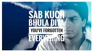 sab kuch bhula diya lyrics meaning in english - YouTube
