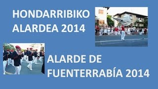 preview picture of video 'Hondarribiko Alardea 2014 / Alarde de Fuenterrabia 2014'