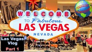 Las Vegas travel vlog: Part 1! The Strip, wild Vegas nights, massive resorts, and plenty of animals