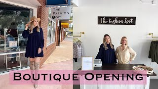 Opening Our First Clothing Boutique