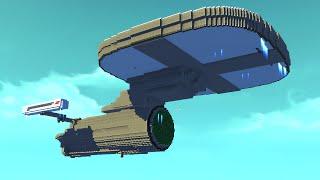 BIGGEST FLYING VEHICLE EVER!? (Scrap Mechanic Workshop)
