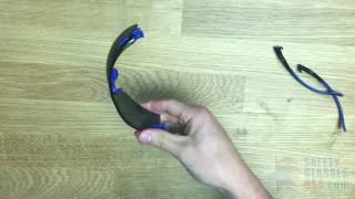 How To Install The 3M Solus Safety Glasses Goggle Strap