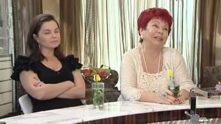 """Наташа Королева и мама Люда в программе """"Добро пожаловать"""" с Аллой Крутой"""