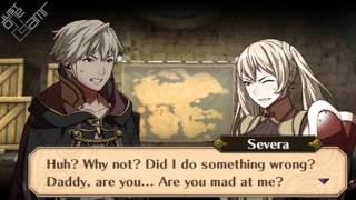 Fire Emblem Awakening - Male Avatar (Father) & Severa (Daughter) Support Conversations