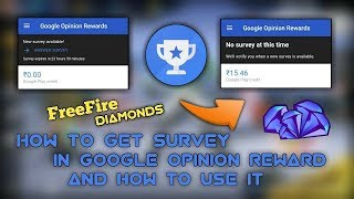 how to redeem google opinion rewards in free fire - Kênh video giải