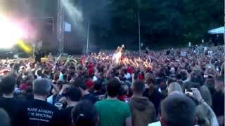 preview picture of video 'Limp Bizkit - Livin' It Up Dresden 16-06-12'