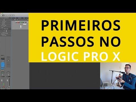 Primeiros passos no Logic Pro X (Curso de Apple Logic Pro X)