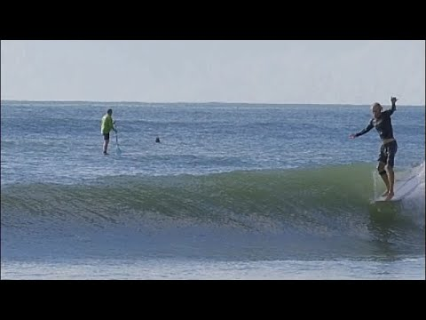 Longboard Surfing noseriding CJ Nelson Sprout Robert Bugg
