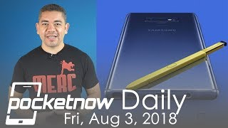 Galaxy Note 9 leaked.. by Samsung, Google Pixel 3 XL specs & more - Pocketnow Daily