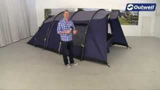 Outwell Whitecove 5 Tent Pitching Video (2014)