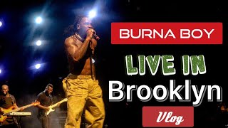 Brooklyn Goes Crazy Over Burna Boy **watch Till The End!!!!*
