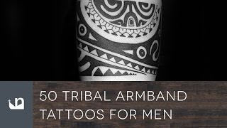 50 Tribal Armband Tattoos For Men
