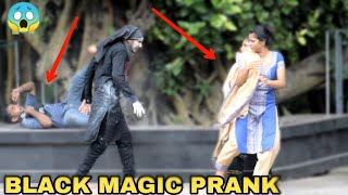 BLACK MAGIC PRANK || PRANK IN INDIA - MOST DANGEROUS PRANK EVER || MOUZ PRANK