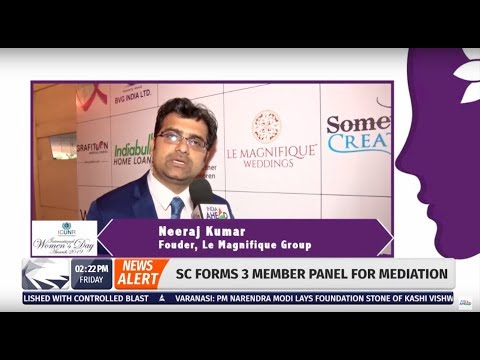 ICUNR International Women's Day Awards 2019 covered by India Ahead News