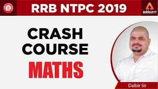 RRB NTPC Crash Course | Maths Class 1 | Dalbir Sir | 12:15 PM