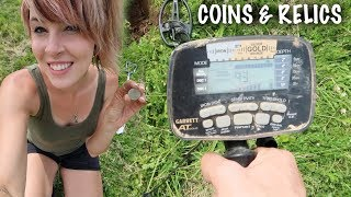 We Discovered A Native American Contact Site! | Old COINS & Relics While Metal Detecting