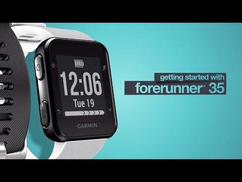Forerunner 35: Getting Started