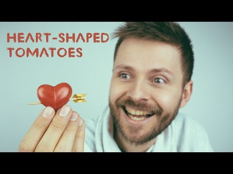 How To Make Heart-Shaped Tomatoes