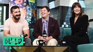 "Shia LaBeouf, Dakota Johnson & Zack Gottsagen Speak On The Film ""The Peanut Butter Falcon"""
