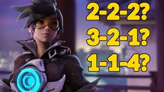 BEST TEAM COMP FOR COMPETITIVE OVERWATCH?!