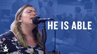 He Is Able (Spontaneous) -- The Prayer Room Live Moment