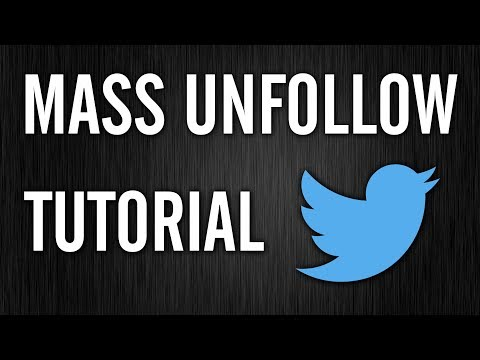 mp4 Auto Unfollow Twitter, download Auto Unfollow Twitter video klip Auto Unfollow Twitter