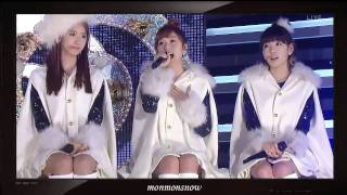 [HD] [101229] SNSD - Snowy Wish + Hoot (feat. Minho)