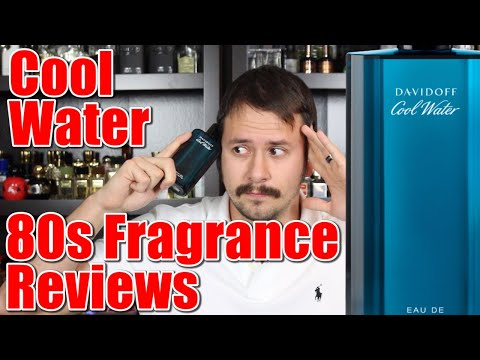 Davidoff Cool Water | 80s Fragrance Reviews | A Return To The Arcade
