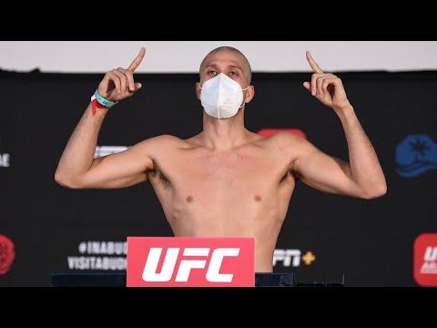 La pesée de l'UFC on ESPN+ 38: Ortega vs. The Korean Zombie