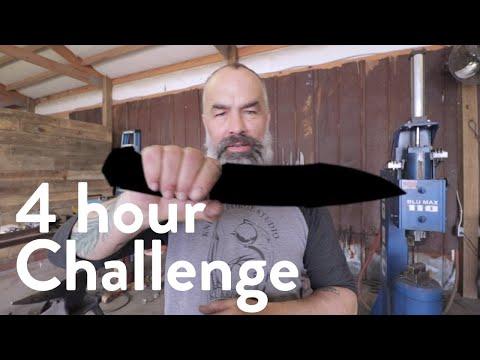 CHALLENGE | 4-Hour Forge to Finish: Samurai Chopper