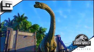 Jurassic World Evolution! Brachiosaurus! E20