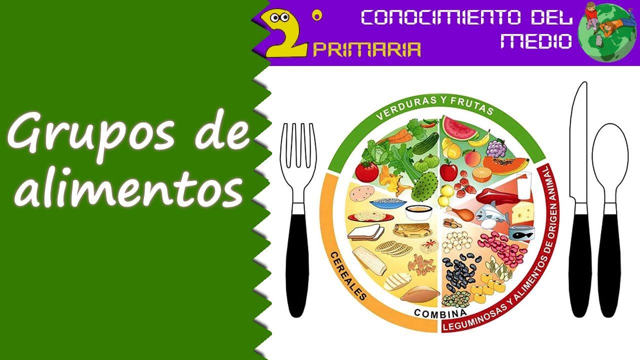 Cono, 2º Primaria. Tema 2. Los grupos de alimentos