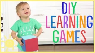 D.I.Y. Developmental Games for Toddlers