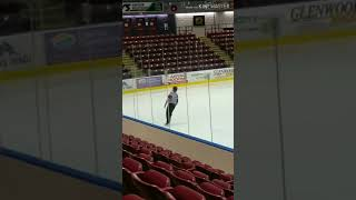 Dancing Referee Steals the Spotlight at Hockey Game