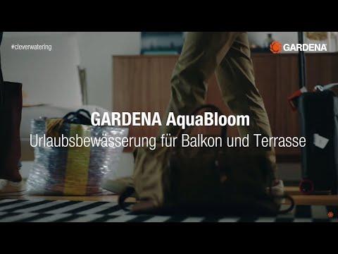 Solarbetriebene Bewässerung AquaBloom