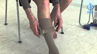 Pull Off Compression Stockings With Steve®: Instructions Part 3