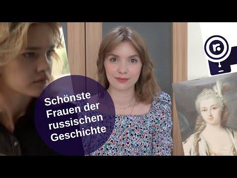 Schönste Frauen der russischen Geschichte [Video]