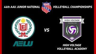 (2019-06-17) TORNEO AAU 2019 - AELU vs HIGH VOLTAGE VOLLEYBALL ACADEMY (FL)