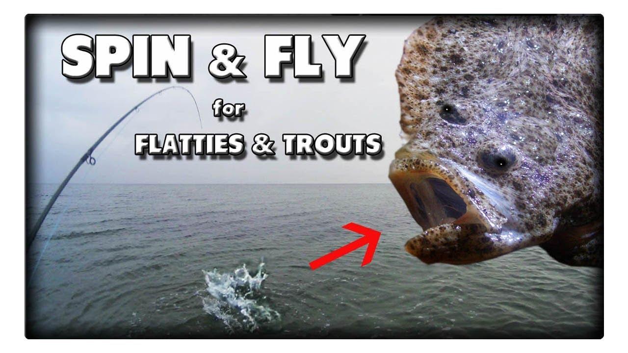 Mit Spinnrute, Buttlöffel, Sbiro und Fliege auf Forelle, Plattfisch und sogar Steinbutt