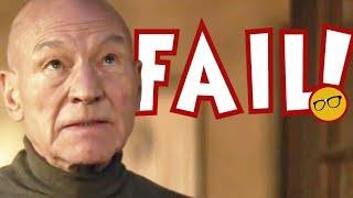 Star Trek Picard Fails Before it Begins | Requires Comic Books and Novel for Viewing