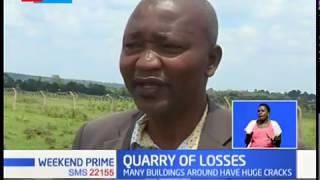 Quarry of Loss: Blast from quarry destroys houses