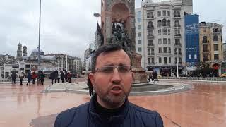 Taksim'i Meydan Yapan Cumhuriyet Anıtı
