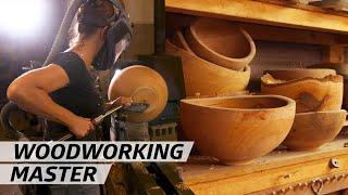 How a Woodworking Master Makes Bowls — Handmade thumbnail