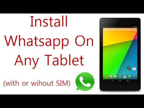 "Install Whatsapp On Any Android Tablet: Fixed ""This App Is Not Compatible With Your Device"" Mp3"
