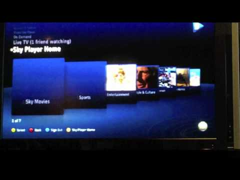 Watch This BSkyB Demo On XBox Live To See What Foxtel Will Look Like