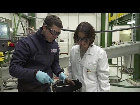 Criando o biocombustível a partir de palha