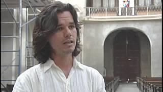 preview picture of video 'Desarrollan en Cienfuegos labores de restauración en la Iglesia Catedral'