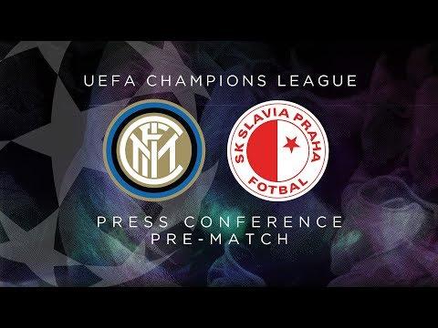 INTER vs SLAVIA PRAHA   LIVE   Pre-Match Press Conference Conte + Handanovic [SUB ENG]